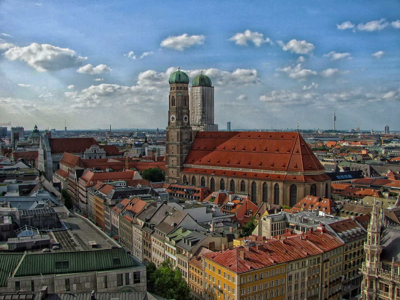 City of Munich is where our HQ resides...